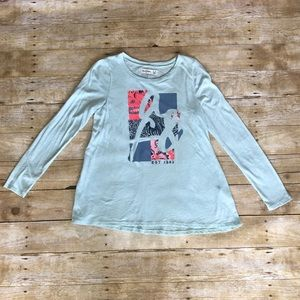 Abercrombie Kids Long Sleeve Graphic Tee